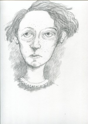 Lucy Pennant sketch