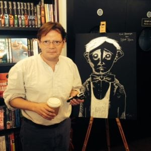 Clod_at_Waterstones_Piccadilly